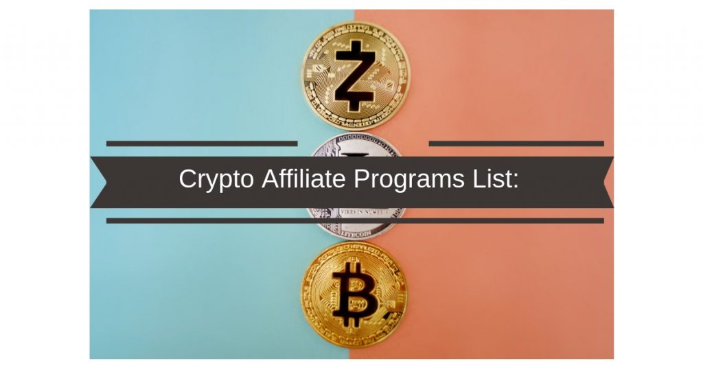 bitcoin affiliate program list